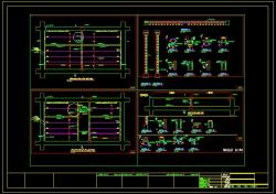 دانلود نقشه اتوکد دیتایل و جزییات اجرایی میانقاب غیرسازه ای (وال پست) جدید